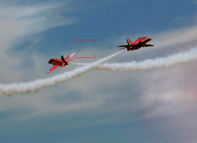 The Red Arrows cropped